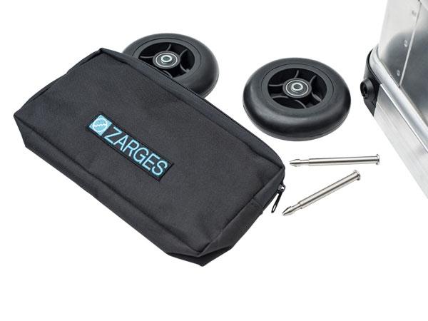 Zarges Rollen-Set 125 mm für Mobilbox K424 XC