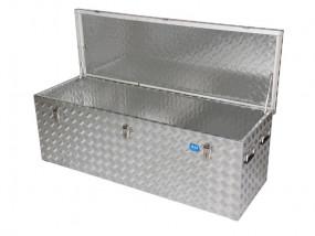 Aluminium box chequered plate R375 l