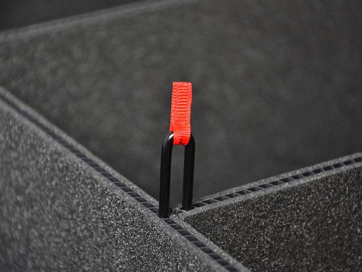 Peli Case 1560 TrekPak-Deckeleinlage schwarz
