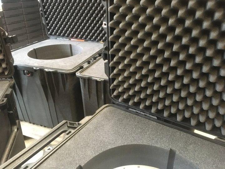 Kunde benötigt sichere Verpackung für elektronische Anlage - Peli Cube Case 0370