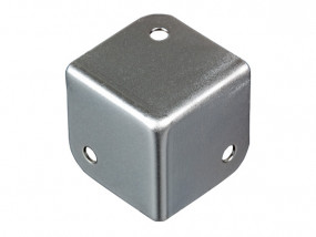 Square corner zinc plated 1,0 mm