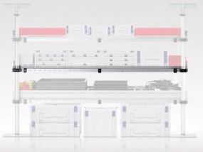 Regalbodeneinheit L-Profil T 310