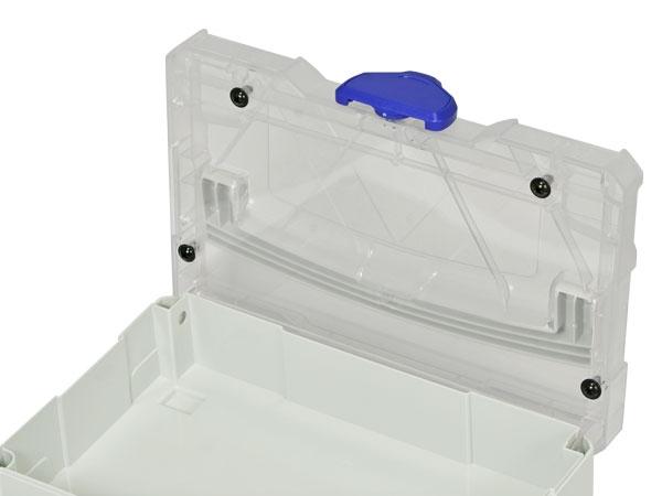 Transparente Deckeleinlage für Mini-Systainer T-Loc