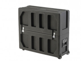 Transport case for flat screens with 20-26""