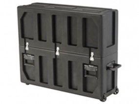 Transport case for flat screens with 32-37""