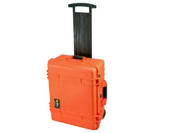 Peli Case 1560 leer orange