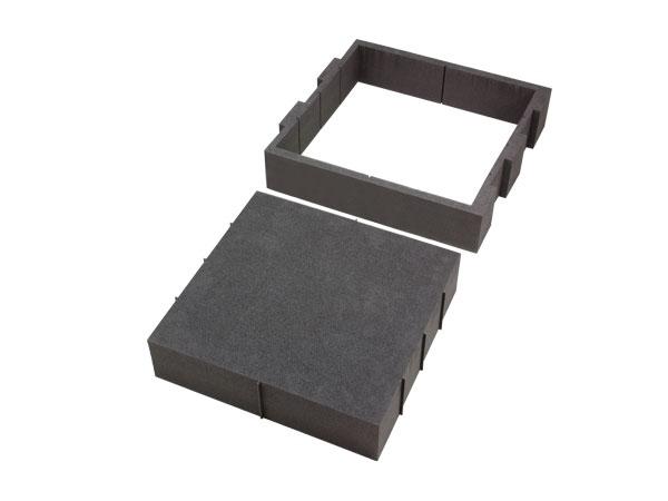 Hart-Schaumstoff Gerätefach IV 430 x 465 mm