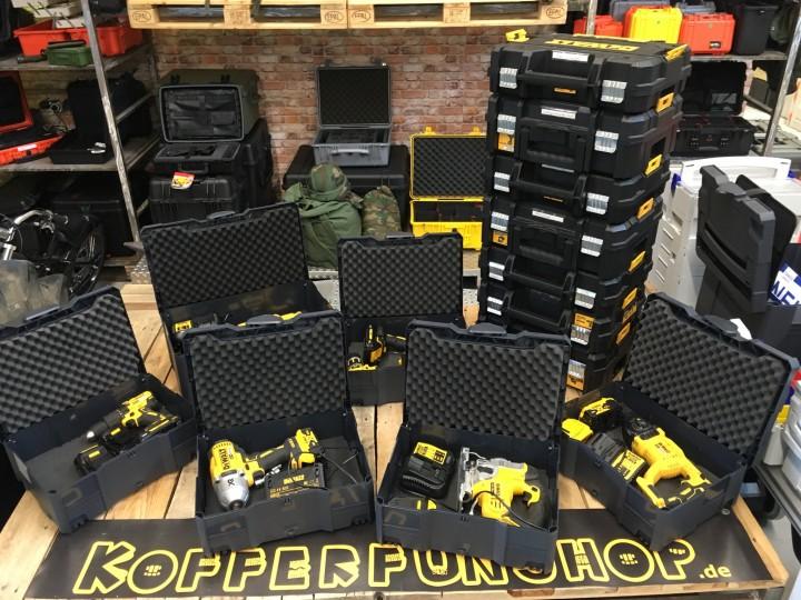 Ladenbauer stellt um - Umtausch-Systainer T-Loc II und T-Loc III für Dewalt-Koffer