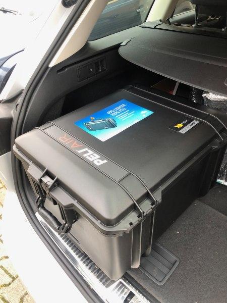 Peli Air Case 1607 - Außendienst braucht Koffer