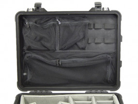 Photo lid organizer for Peli 1560