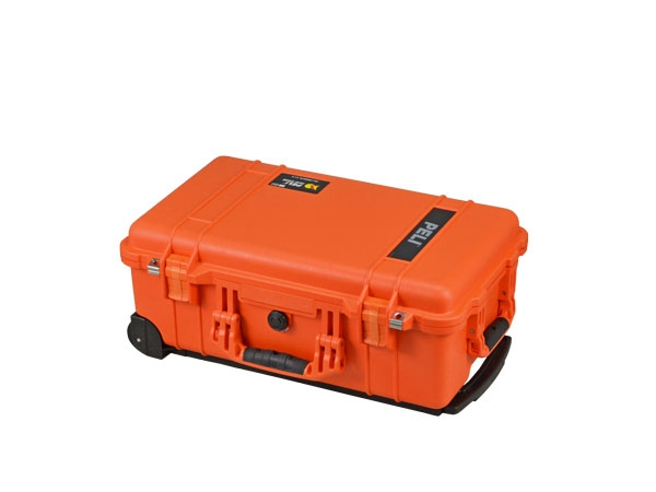 Peli Case 1510 mit Trennwand-Set orange
