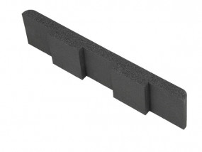 Hard foam end piece right 430 x 40 mm