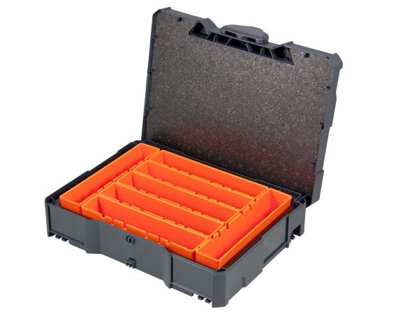 Boxen-Systainer I T-Loc mit 7 Einsätzen
