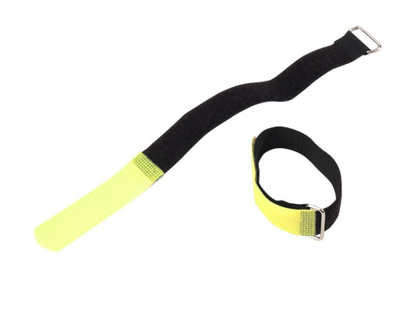 10 x cable ties velcro 30x10mm neon colour rack accessories