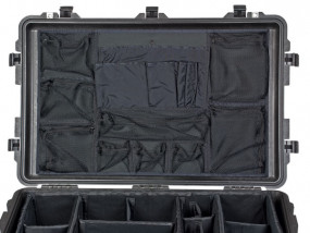 Photo lid organizer for Peli 1650