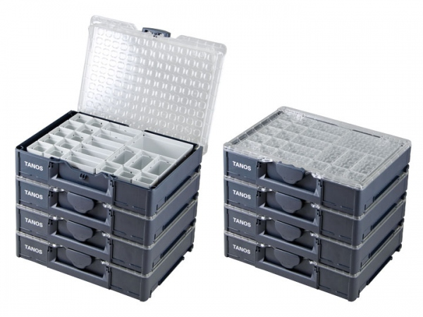8 x Systainer3 Organizer M89 mit 22 Einsatz-Boxen