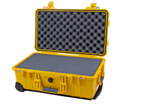 Peli Case 1510 with foam yellow