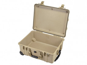 Peli Case 1560 empty desert tan