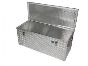 Caja de aluminio placa antiderrapante R312 l