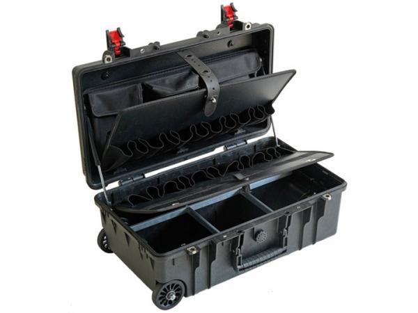 GT Valigia per utensili con Trolley 52-21 PTS nero
