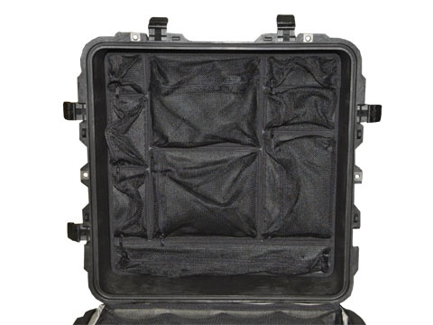 Photo lid organizer for Peli 0350