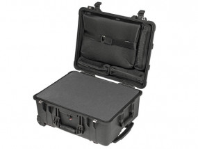 Peli Case 1560 LFC with foam and laptop sleeve