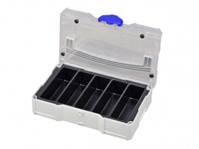 Mini-Systainer T-Loc I 5 compartments with transparent lid