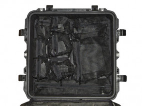 Photo lid organizer for Peli 0340