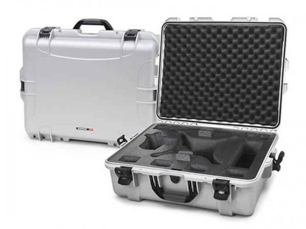 Nanuk Case 945 mit Schaumstoffeinlage silber für Drohne Phantom 4