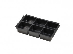 Deep-drawn insert with 6 compartments for Mini-Systainer T-Loc