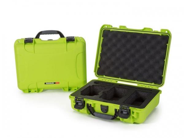 Nanuk Case 910 mit Schaumstoffeinlage limettengrün für Drohne Mavic Air