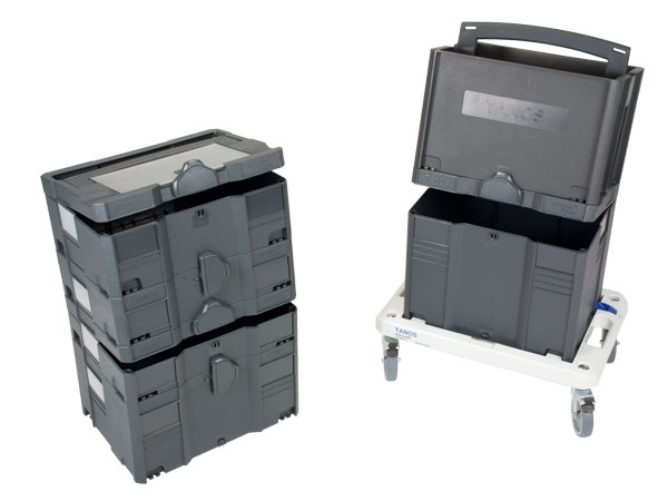 Systainer Tool-Box 2, 2 x Systainer I, II, III, IV, Rollbrett