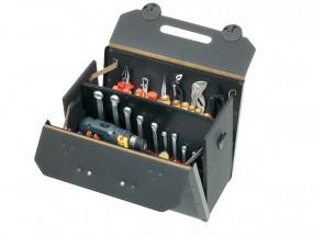Leder-Werkzeugtasche Top-Line mittel I