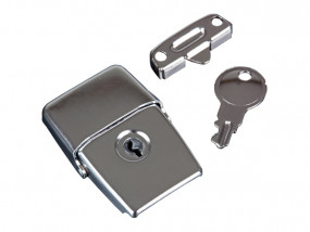 Drawbolt medium zinc-plated lockable