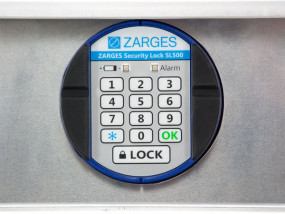 Zarges electronic lock for universal box K470