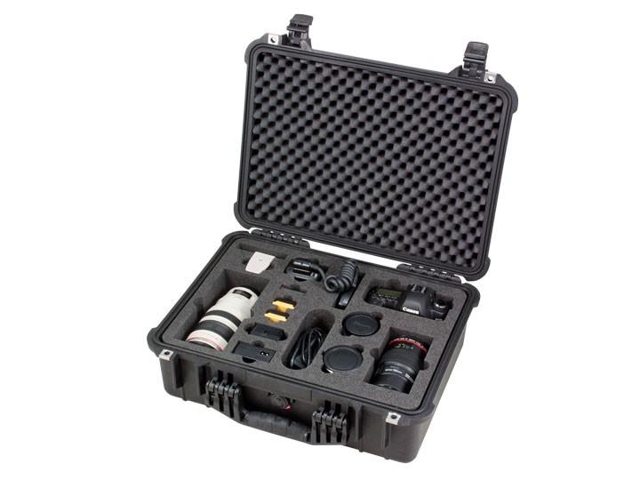 Peli Case 1520 Formschnitt für Fotoequipment