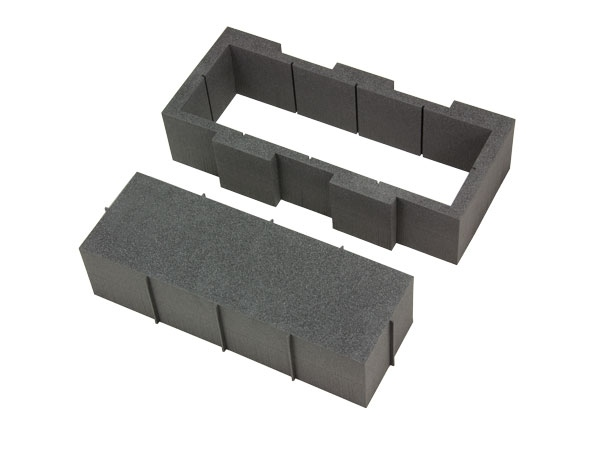Hart-Schaumstoff Gerätefach I 430 x 180 mm