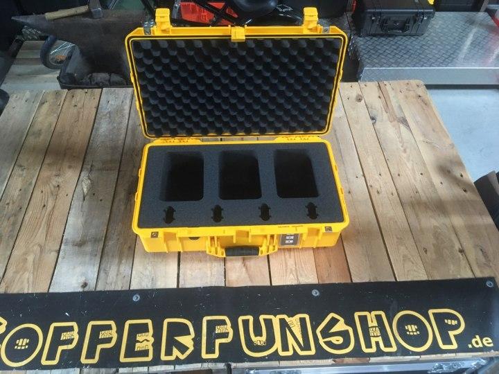Feuerwehr braucht zum Katastrophenschutz Koffer für Geigerzähler - Peli Air Case 1555