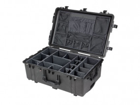 Peli Case 1650 with divider set and photo lid insert