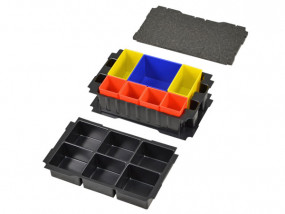 Boxes insert set for Mini-Systainer T-Loc III 6 compartments