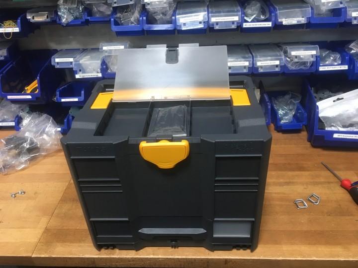 T-Loc Systainer / Systainer3 - freie Farbwahl bei Korpus, Griff und Verschluss