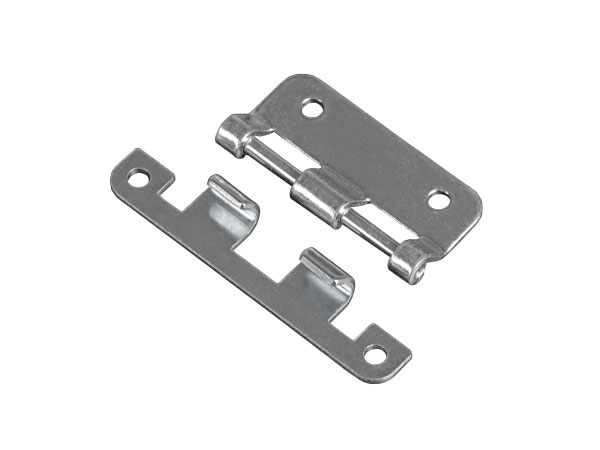 Remobable hinge large zinc-plated