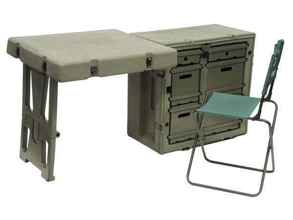 Hardigg Single Field Desk