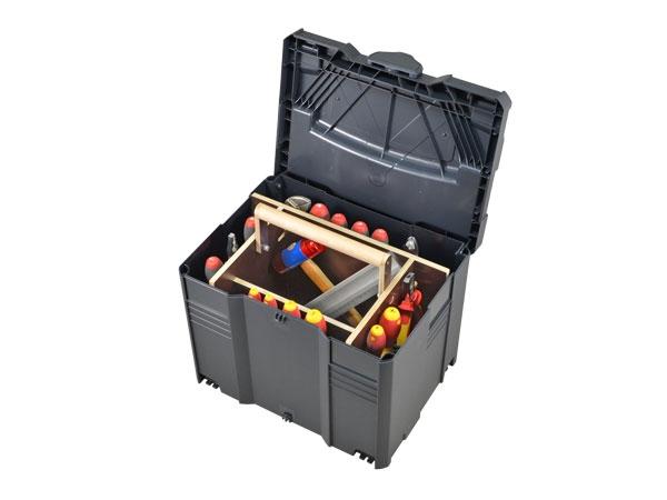 Werkzeug-Systainer T-Loc IV mit Holzeinsatz