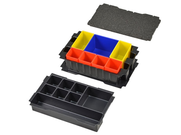 Boxes-insert set for Mini-Systainer T-Loc III Universal