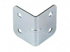 L-corner small zinc-plated 1,0 mm