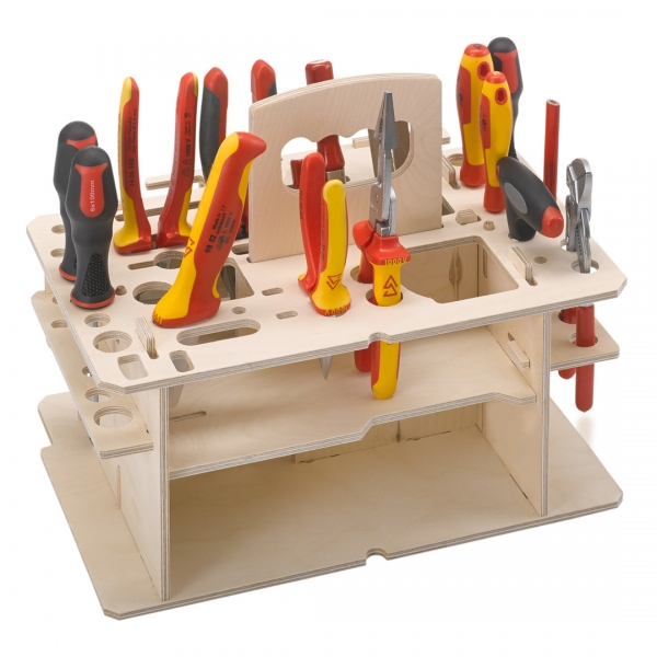 Holzeinsatz für Handwerkzeuge für Systainer3 M337 M437