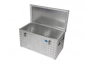 Aluminium box chequered plate R250 l