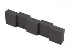 Hart-Schaumstoff Distanzstück 430 x 55 mm
