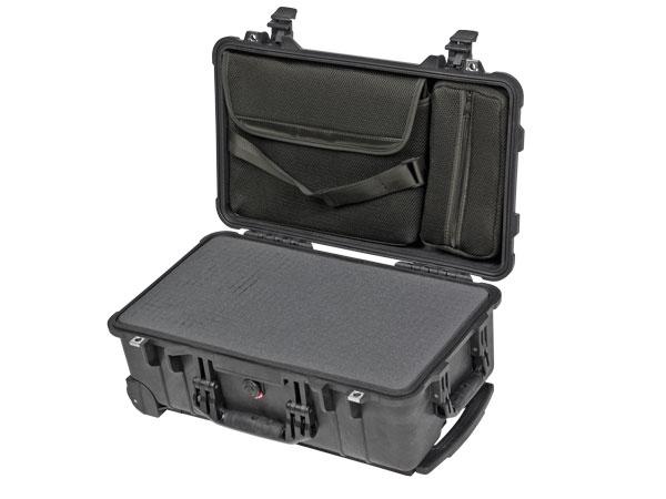 Peli Case 1510 LFC avec mousse et pochette Laptop